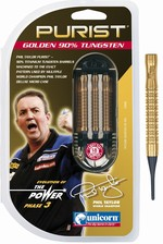 Barrels Unicorn Purist Gold Phil Taylor 18g